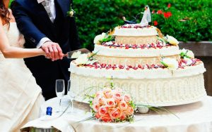 Tort de nunta, tortul de nuntadecor floral
