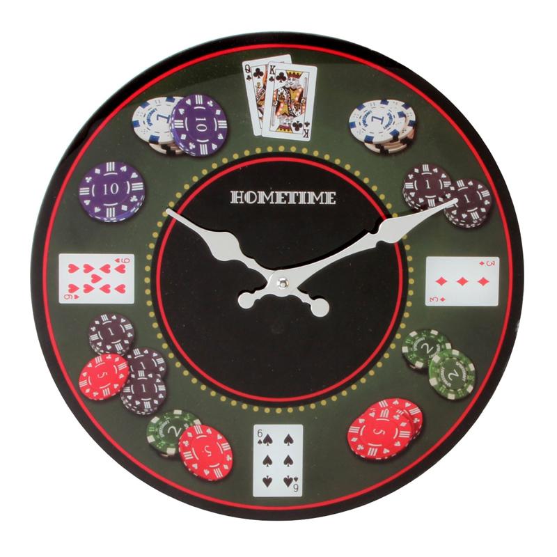Ceasuri de perete pentru barbati, ceas poker