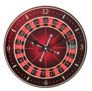 Ceasuri de perete pentru barbati, ceas ruleta,
