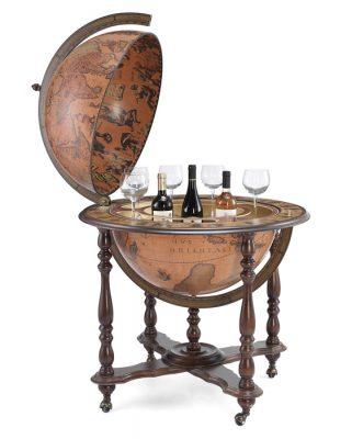 Bar cu glob antichizat Ahile by Zoffoli