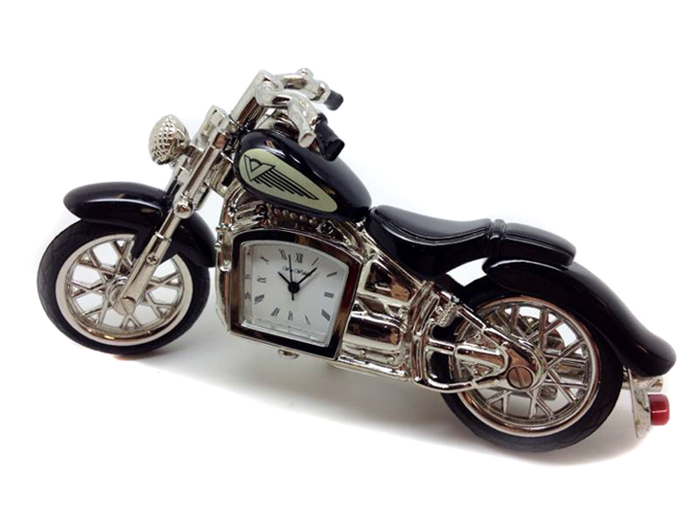 ceas de birou miniatura motocicleta