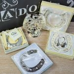Potcoava norocoasa de nunta placata cu argint pentru tinerii insuratei