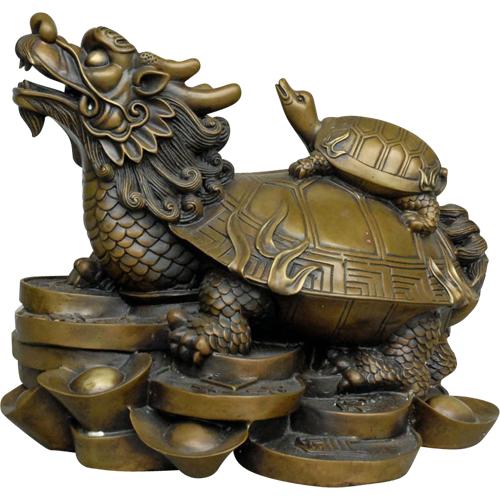 broasca testoasa dragon-remedii si amulete norocoase feng shui
