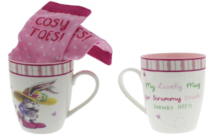 Cana de cafea cozy toes, idei de cadouri pentru orice ocazie