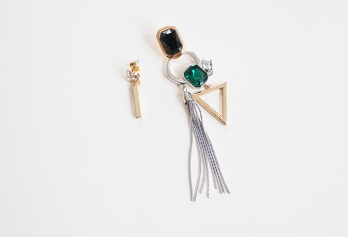 Cercei de seara, accesorii feminine pentru sarbatori.