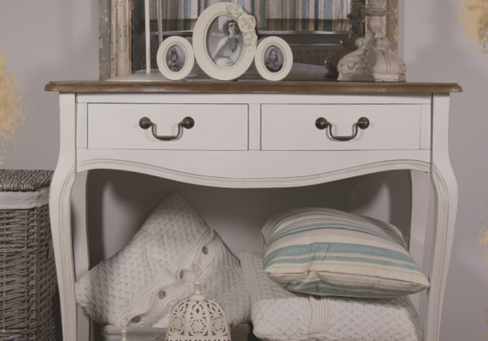 consola mobilier shabby chic