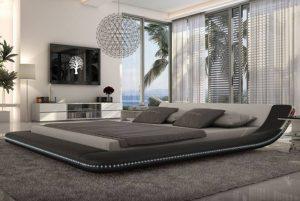 pat imens pat dublu de dormitor amenajarea dormitorului