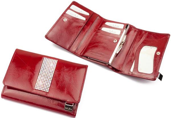 cadouri de lux portofel cu cristale Swarovski