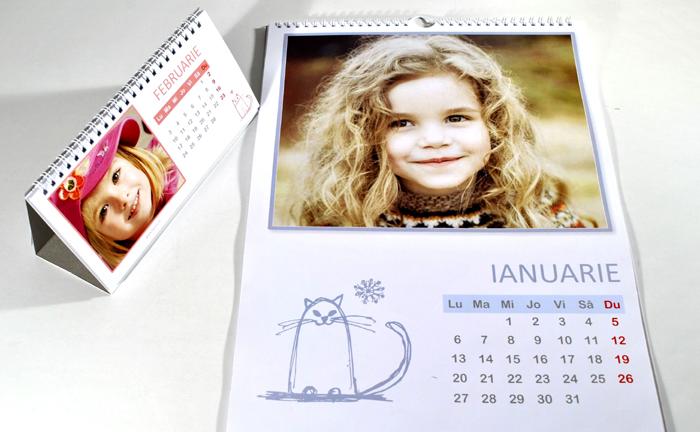Calendar personalizat cadouri de anul nou