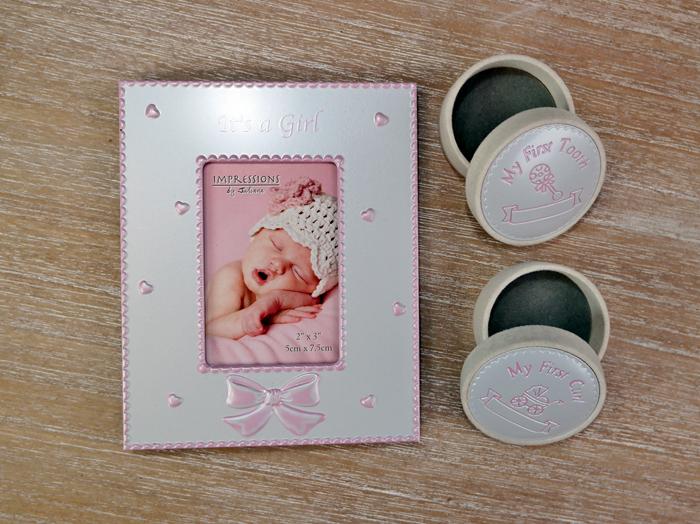 Cadouri amintire pentru bebelusi, Cadou pentru bebelus fetita