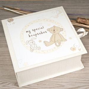 Cutia cu amintiri a bebelusului