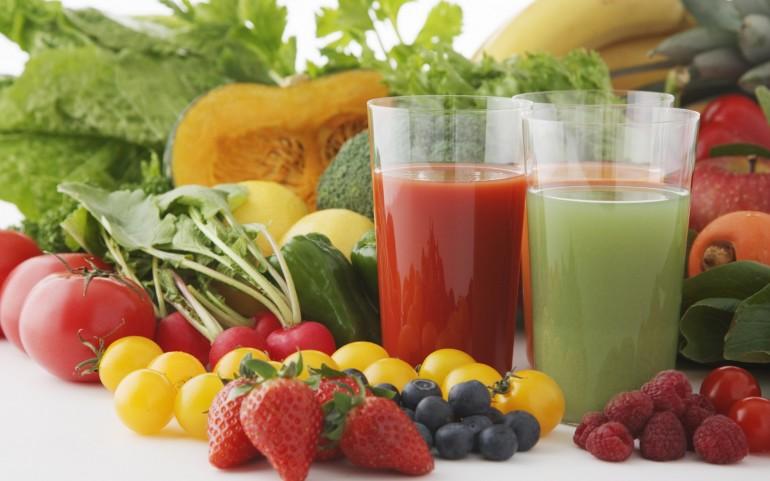 Beneficiile sucurilor naturale din legume