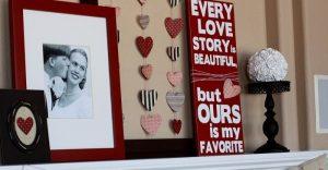 decor de Valentine's Day, gesturide tandrete de sfantul valentin