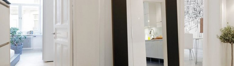 Decor pentru hol oglinda