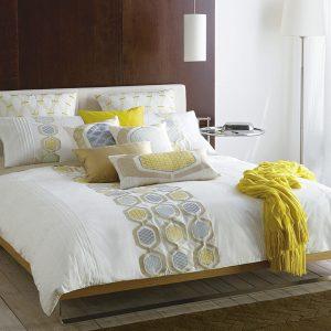 Perne de pat decor de dormitor 2016