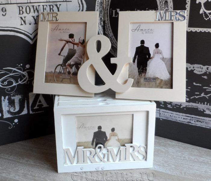 Album si rama foto pentru miri, cadoul de nunta