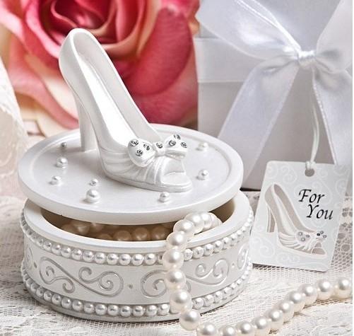 marturii de nunta cutiuta de bomboane cu pantofior