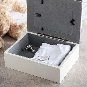 Caseta bebelusului, caseta de amintiri pentru bebelus, caseta pentru amintirile bebelusului
