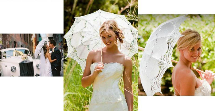 Sedinta foto inedita cu evantai si umbrela din dantela.