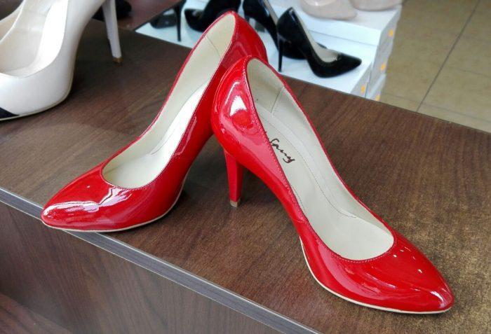 Pantofi de piele, pantofi de dama