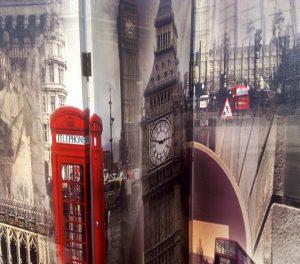 paravan despartitor Londra