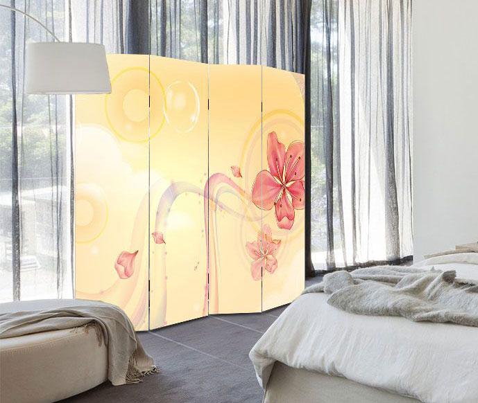 Paravan decorativ despartitor de camera, paravane despartitoare si decorative