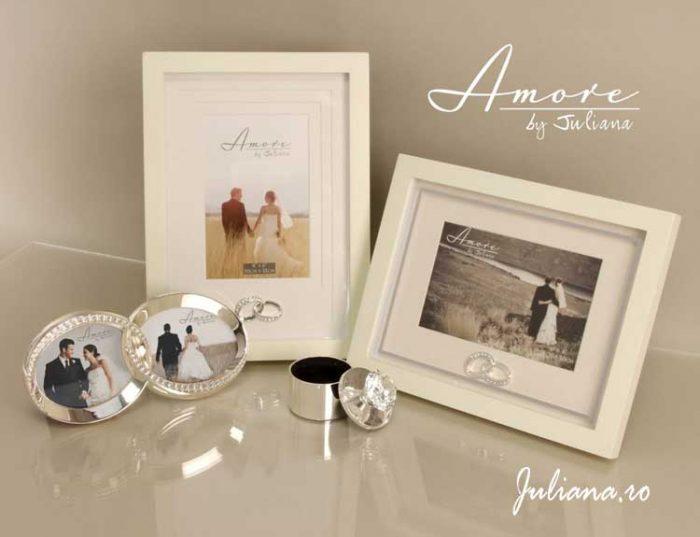 Cadouri de nunta din colectia Amore by Juliana