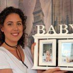 Rama pentru bebelusi rotitoare in stil vintage