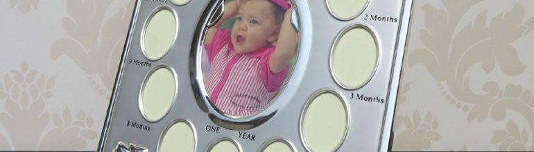 RRama pentru primul an al bebelusului