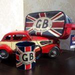 Cadou pentru barbati Great Bloke cu simbolurile Marii Britanii