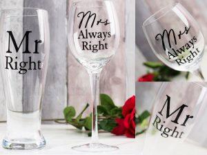 Pahare pentru bere vin cadouri pentru cuplu