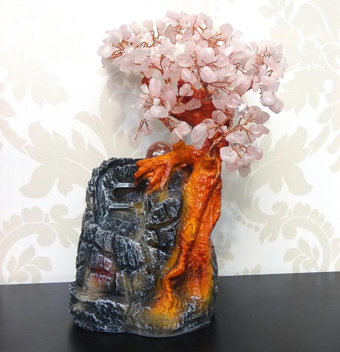 Fantani decorative Feng Shui cu pietre semipretioase