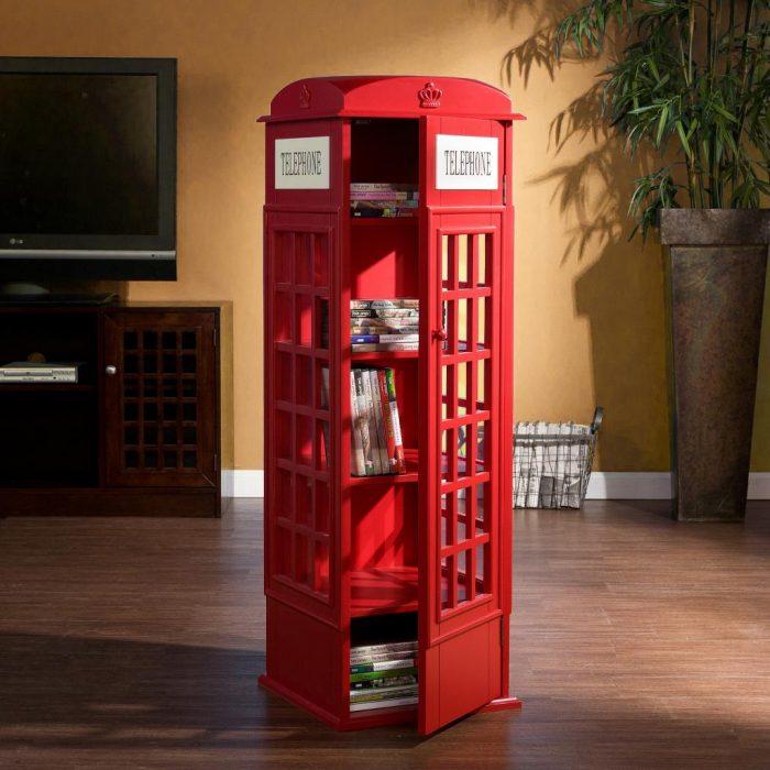 Cabina telefonica britanica in marime natural