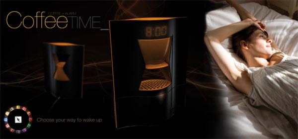 ceas cu alarma cafea cadouri trasnite
