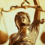 Statueta zeita Justitiei pentru birou, un cadou de colectie