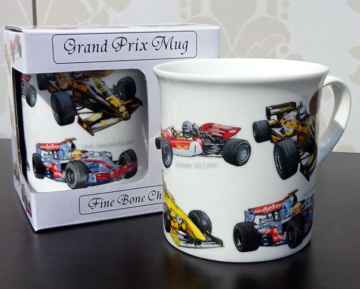 Cana masini F1, cadou pentru barbatul sportiv
