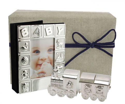 Cadou de botez pentru baietel, colectia argintata Juliana