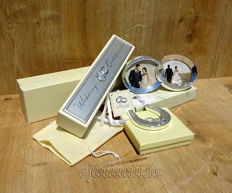 cadouri de nunta din colectia Amore by Juliana, Cadouri de nunta pentru miri de la nasi