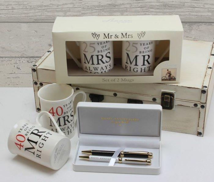 Idei de cadouri pentru aniversarea casatoriei