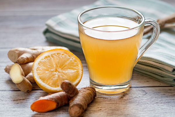 remediu natural pentru raceala si gripa ceai de ghimbir cu turmeric