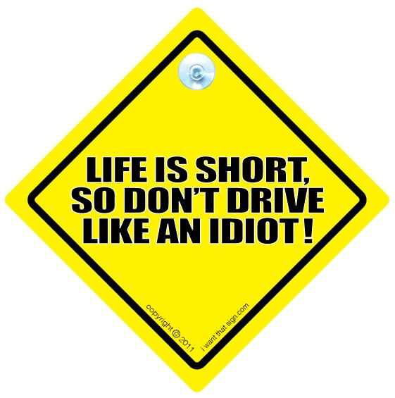soferi nu conduce ca un idiot