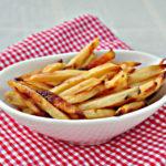 Cartofi prajiti sanatosi la cuptor