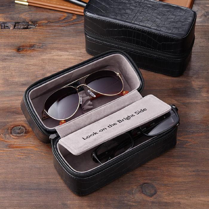 Caseta cutie dubla ochelari