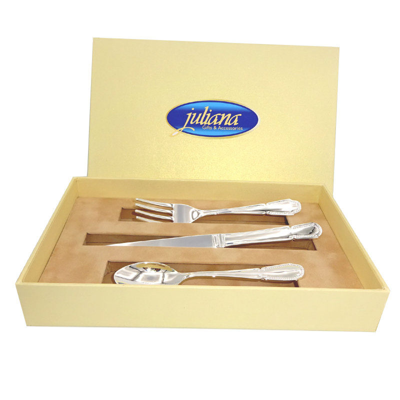 tacamuri argintate cutie eleganta