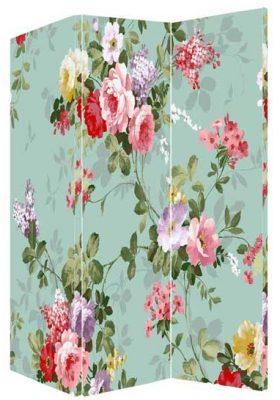 Paravan despartitor decorativ cu flori
