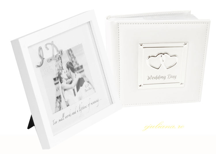 Album foto de nunta si rama foto I Do pentru miri
