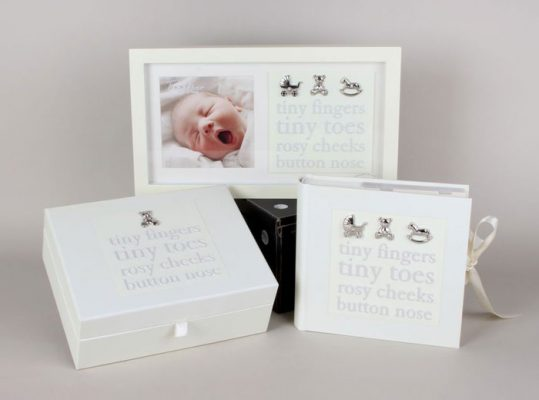 Album foto, caseta amintiri rama foto pentru bebelusi, cadou de botez si prima aniversare