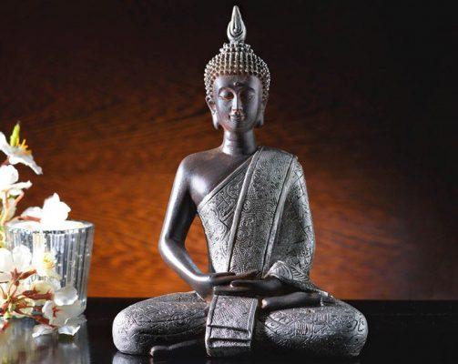 Statueta Buddha in pozitie de lotus