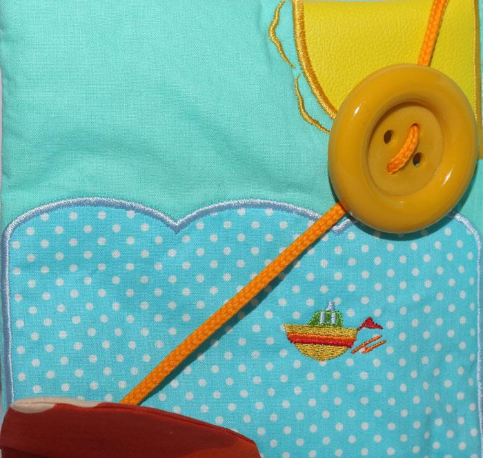 Carti senzoriale - Cartea senzoriala pentru bebelusi, cartea magica personalizata