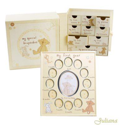 Rama primul an si cutia de amintiri ale bebelusului